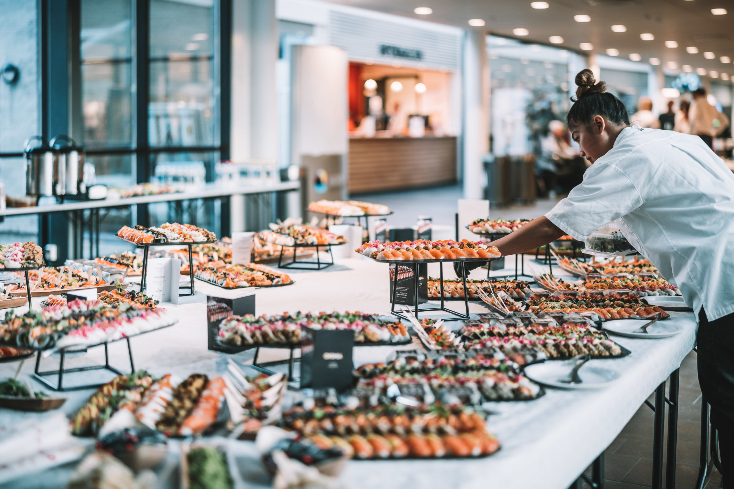 Sushi catering fra Ohma